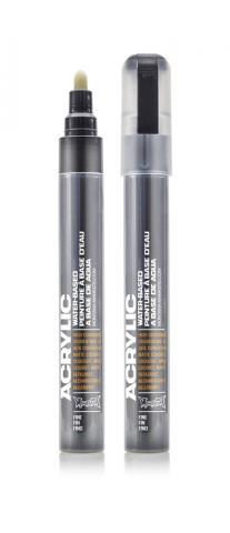 Montana ACRYLIC Marker 2mm Fine - SH9000 Black Farbe: Shock Blac Breite: 2mm Shock Blac | 2mm