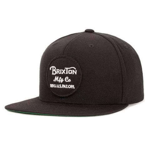 Brixton Wheeler - black Größe: Onesize Farbe: Black Onesize | Black