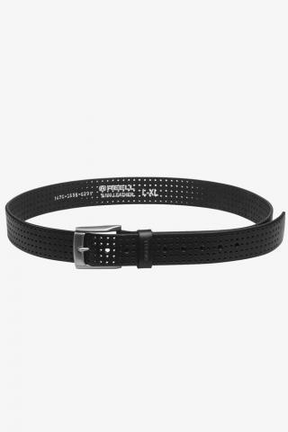 Reell Punched Belt - black Größe: S/M Farbe: Black S/M | Black