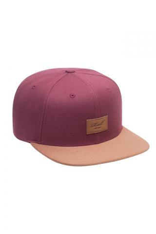 Reell Suede Cap - maroon Größe: Onesize Farbe: maroon Onesize | maroon