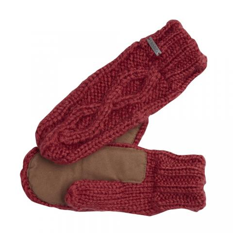 Coal The Bobbie Mitten - red Größe: Onesize Farbe: red Onesize | red