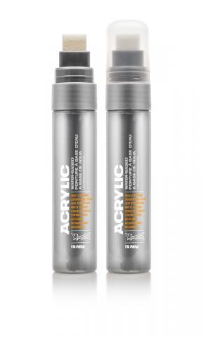 Montana ACRYLIC  Marker 15mm Standard – 7060  Gravel Silber: Gravel Breite: 15mm Gravel | 15mm