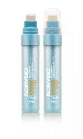 Montana ACRYLIC  Marker 15mm Standard – S5000 Shock Blue Light Blau: Shock Blue Breite: 15mm Shock Blue | 15mm