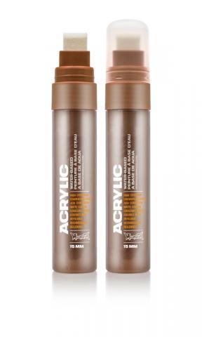 Montana ACRYLIC  Marker 15mm Standard - S8010 Shock Brown Farbe: Shock Brow Breite: 15mm Shock Brow | 15mm