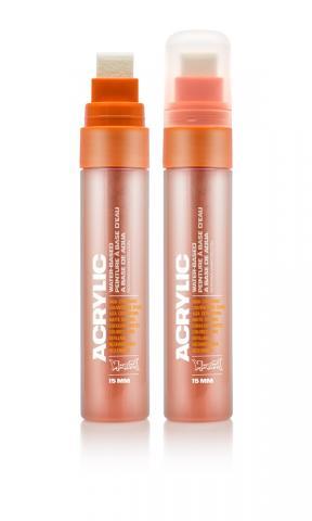 Montana ACRYLIC  Marker 15mm Standard – S2010 Shock Orange Orange: Shock Oran Breite: 15mm Shock Oran | 15mm