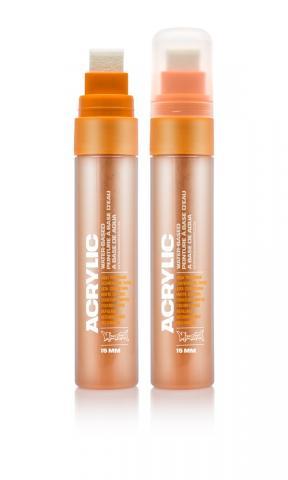 Montana ACRYLIC  Marker 15mm Standard – S2000 Shock Orange Light Orange: Shock Oran Breite: 15mm Shock Oran | 15mm