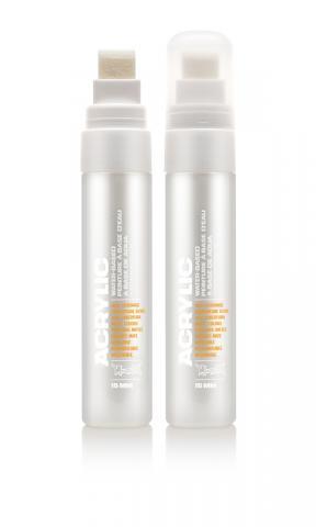 Montana ACRYLIC  Marker 15mm Standard - S9120 Shock White Pure Farbe: Shock Whit Breite: 15mm Shock Whit | 15mm