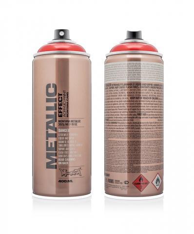 Montana Matallic  400ml - EMC3020 - Red Farbe: Red Red