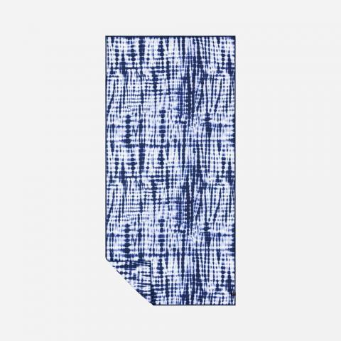 Slowtide Suva Travel Towel 76cm x 152cm - indigo Größe: 76 x 152 Farbe: indigo 76 x 152 | indigo