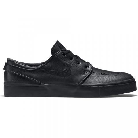 Nike SB Stefan Janoski Leather - black/black Größe: 4 Farbe: BlackBlack 4 | BlackBlack