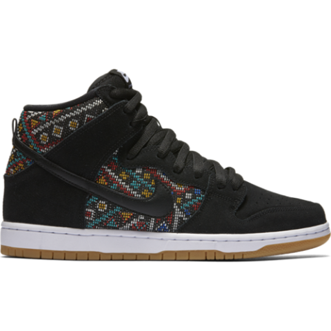Nike SB Dunk High Premium - black Größe: 5½ Farbe: BlackRioTe 5½ | BlackRioTe