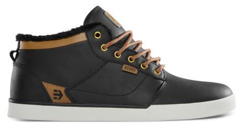 Etnies Jefferson Mid LX SMU - black brown Größe: 6 Farbe: BlackBrwn 6 | BlackBrwn