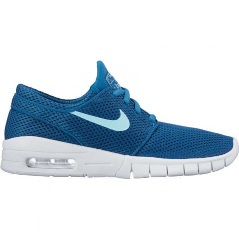 Nike SB Stefan Janoski Max (GS) - blue Größe: 4 Farbe: IndstrBlue 4 | IndstrBlue