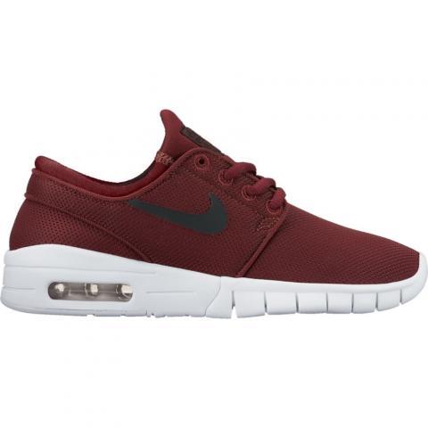 Nike SB Janoski Max GS - dark red Größe: 4½ Farbe: DkTeamRed 4½ | DkTeamRed