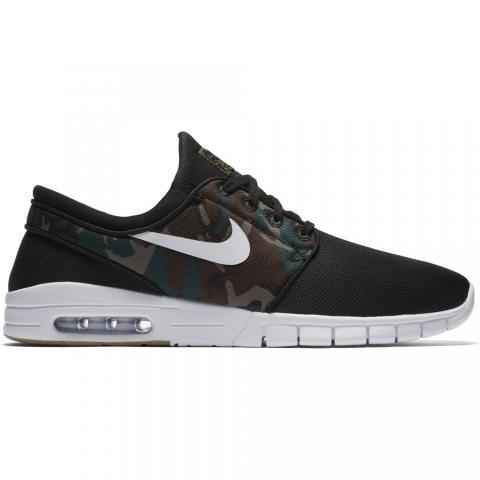 Nike SB Stefan Janoski Max - black Größe: 8 Farbe: blackwhite 8 | blackwhite