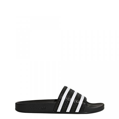 Adidas Adilette - black white black Größe: 4 Farbe: blackwhite 4 | blackwhite