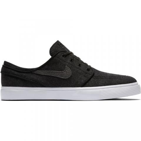 Nike SB Stefan Janoski Canvas - black Größe: 7 Farbe: black 7 | black