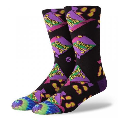 Stance mns Socke Scooby Snacks black Größe: L Farbe: black L | black