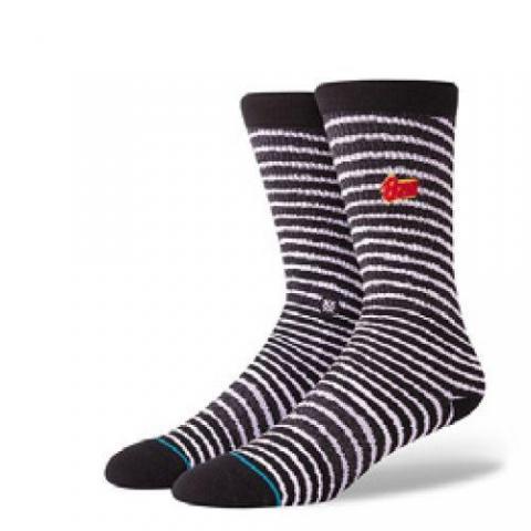 Stance mns Socke Black Star black Größe: L Farbe: black L | black