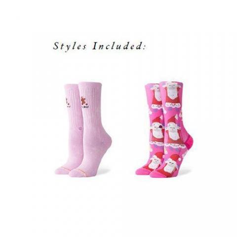 Stance wms Socke Oh Snap Box multi Größe: M Farbe: multi M   multi