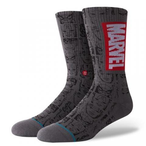 Stance Marvel Icons - grey Größe: M Farbe: grey M   grey