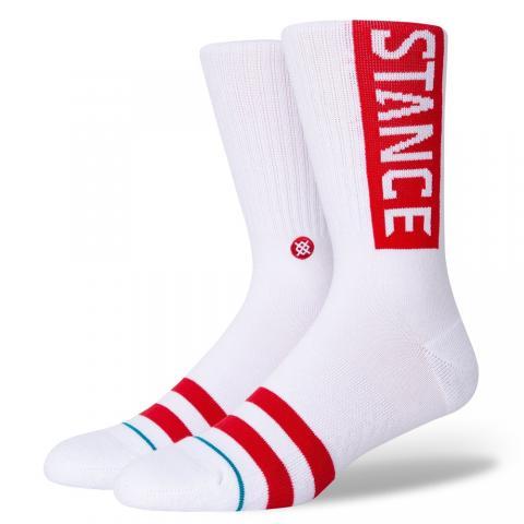 Stance OG - white red Größe: M Weiss: whitered M | whitered
