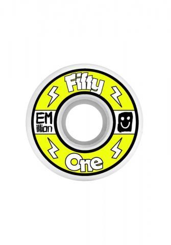 Emillion Neon Wheels - 51mm yellow Größe: 51 Farbe: Yellow 51   Yellow