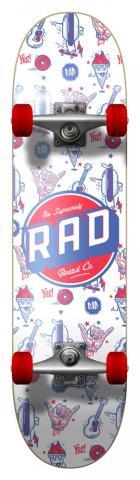 Rad Board Wallpaper 7.75 Größe: 7.75 Farbe: white 7.75 | white