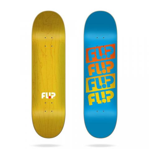 "Flip Team Quattro Faded Light Blue 7.81""x31.5"" Größe: 7.81 7.81"