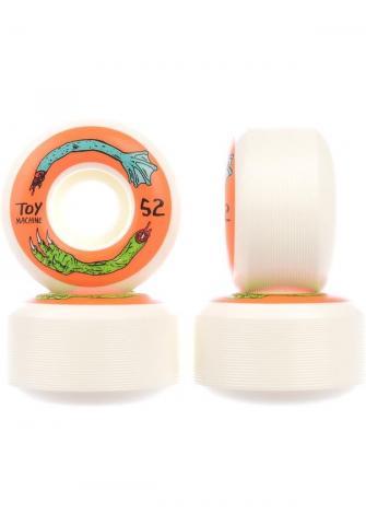 ToyMachine Fos Arms 100A 52mm - white orange Größe: 52 Orange: whiteorang 52 | whiteorang