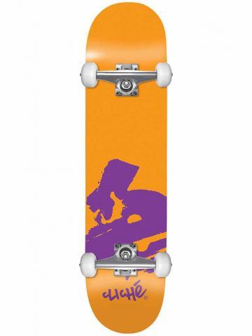 Cliché Europe Orange 7.875x31.70 Größe: 7.875 Orange: orange 7.875 | orange