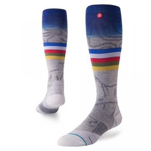 Stance mns Snowboard Socke JC grey Größe: L Farbe: grey L | grey