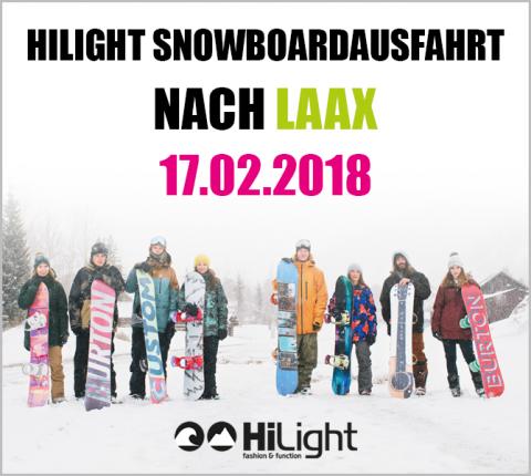 Snowboardausfahrt Laax - 17.02.2018 JGDL (bis 17 Jahre)