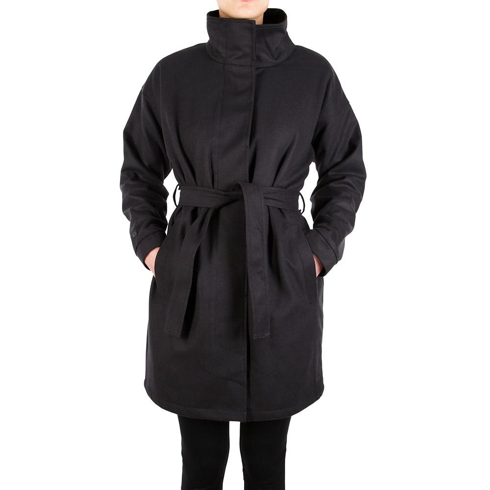 Iriedaily Laissez Coat Größe: S Farbe: Black