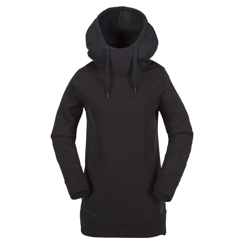 Volcom Metaline Fleece - black Größe: M Farbe: BLACK