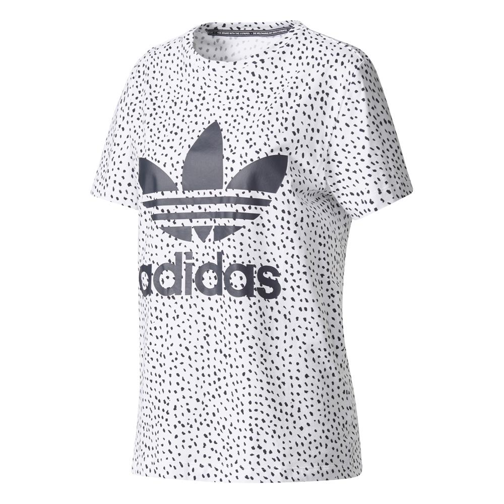 Adidas Allover Print Tee white legend ink