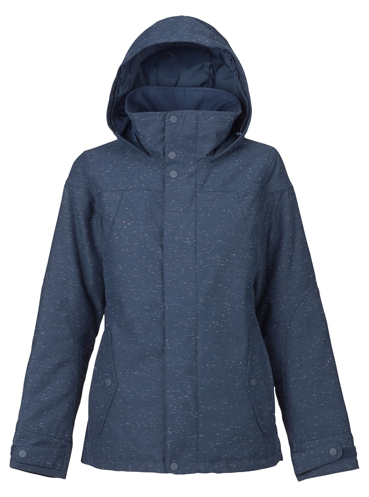 Burton Jet Set Jacket - mood indigo fleck Größe: S Farbe: MoodIng