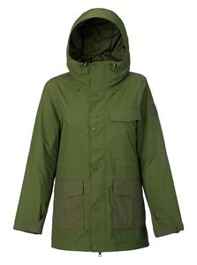 Burton Runstone Jacket - rifle green Größe: S Farbe: RfflGrnFr