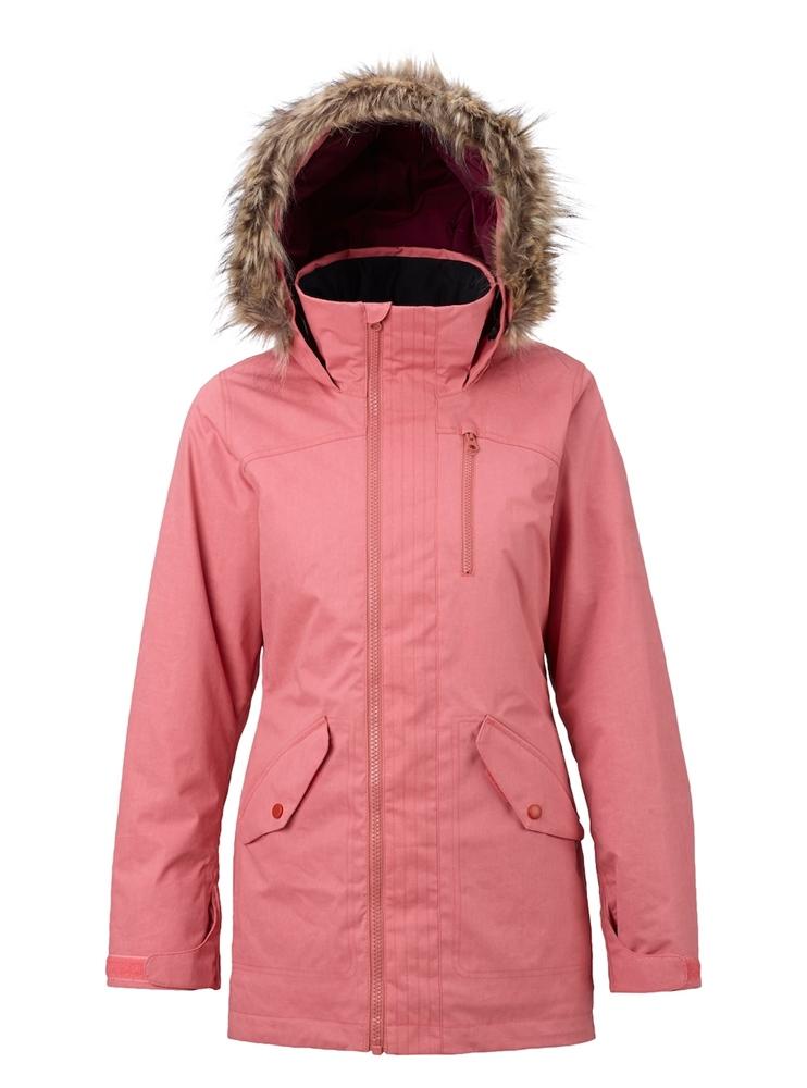 0dc6cc713c5860 Burton Hazel - dusty rose wax - Women s Snowboard jacket in Pink ...