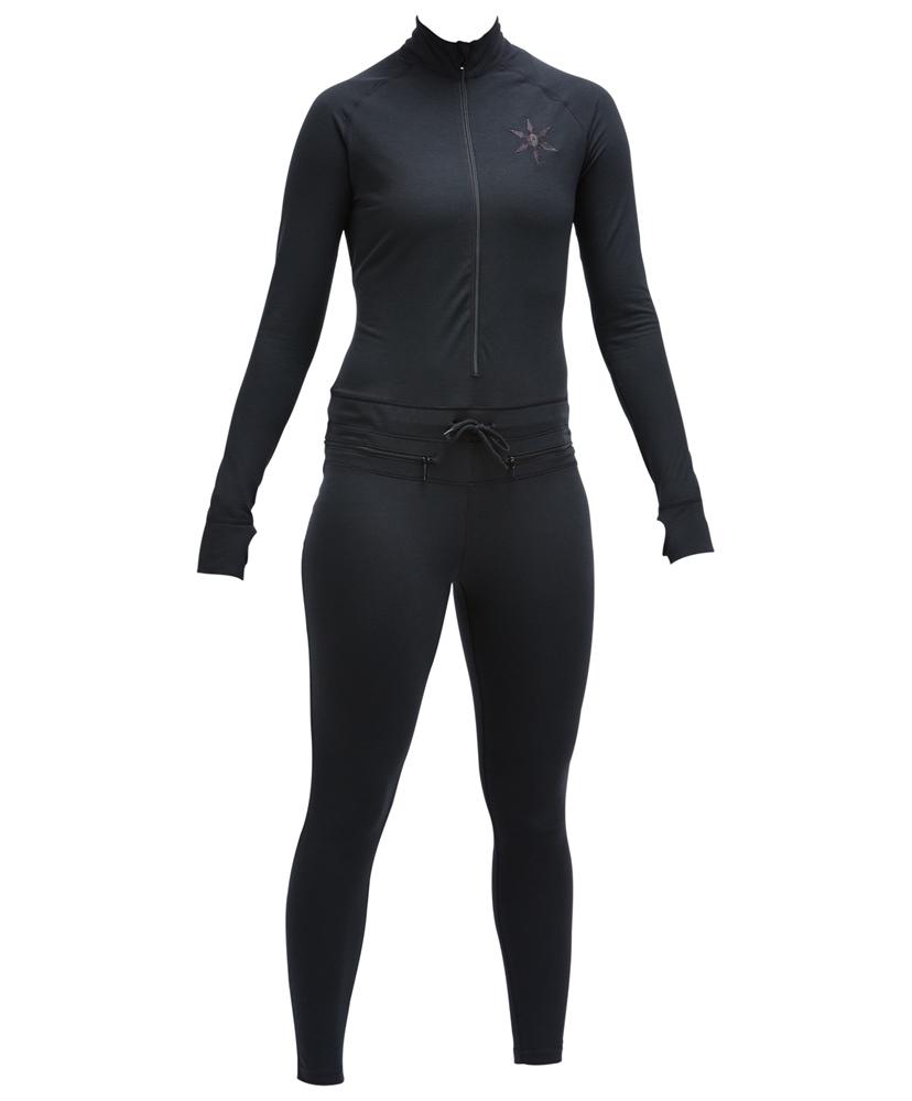 Airblaster Hoodless Ninja Suit - black Größe: M Farbe: Black