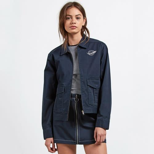 Volcom Frochickie Jacket - navy Größe: S Farbe: navy