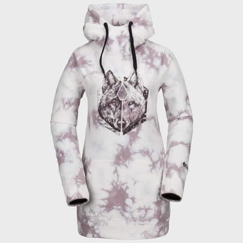Volcom Costus P/Over Fleece - pink Größe: S Farbe: pink