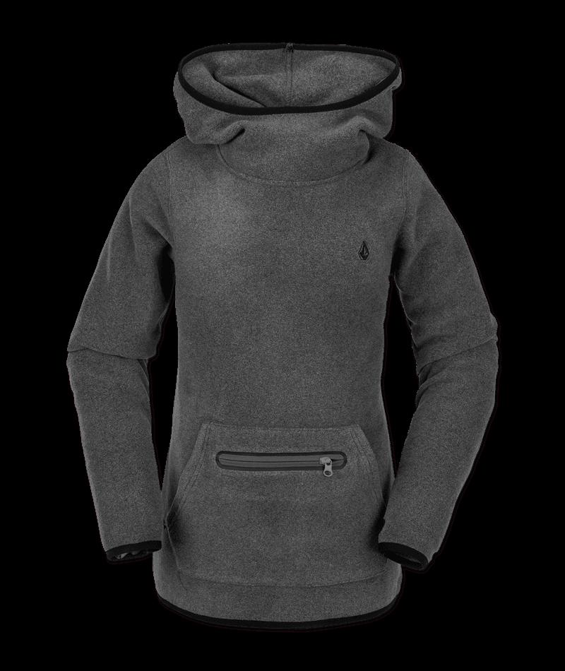 Volcom Polartec Mid - heather grey Größe: S Farbe: heathergre