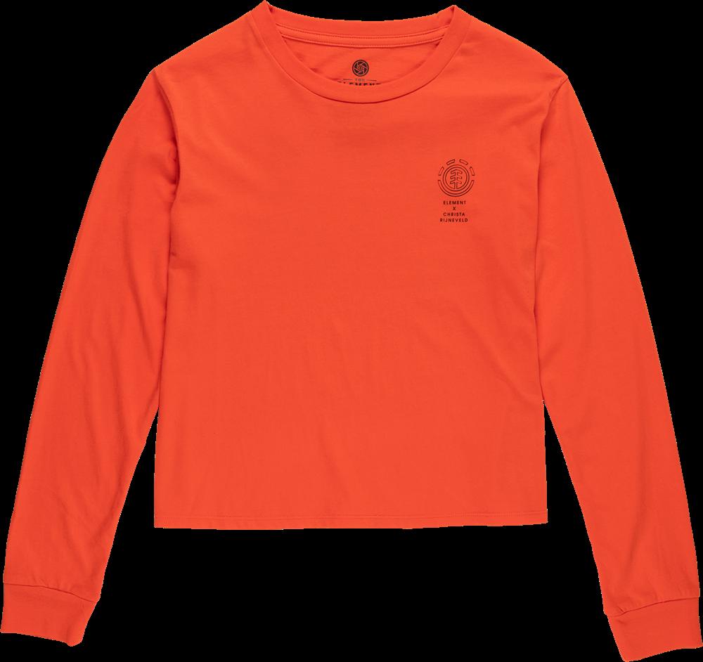 Element Christa Crop - grenadine Größe: S Orange: grenadine