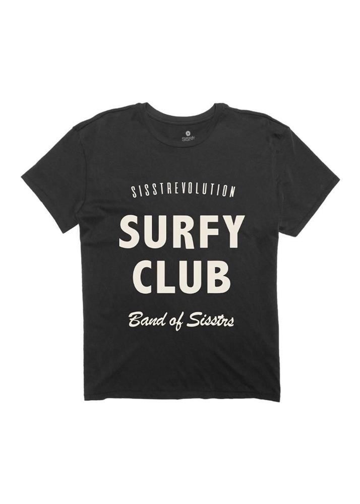 Sisstr Surfy Club - charcoal Größe: M Grau: charcoal