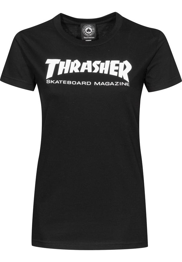 Thrasher Skate Mag - black Größe: M Schwarz: black