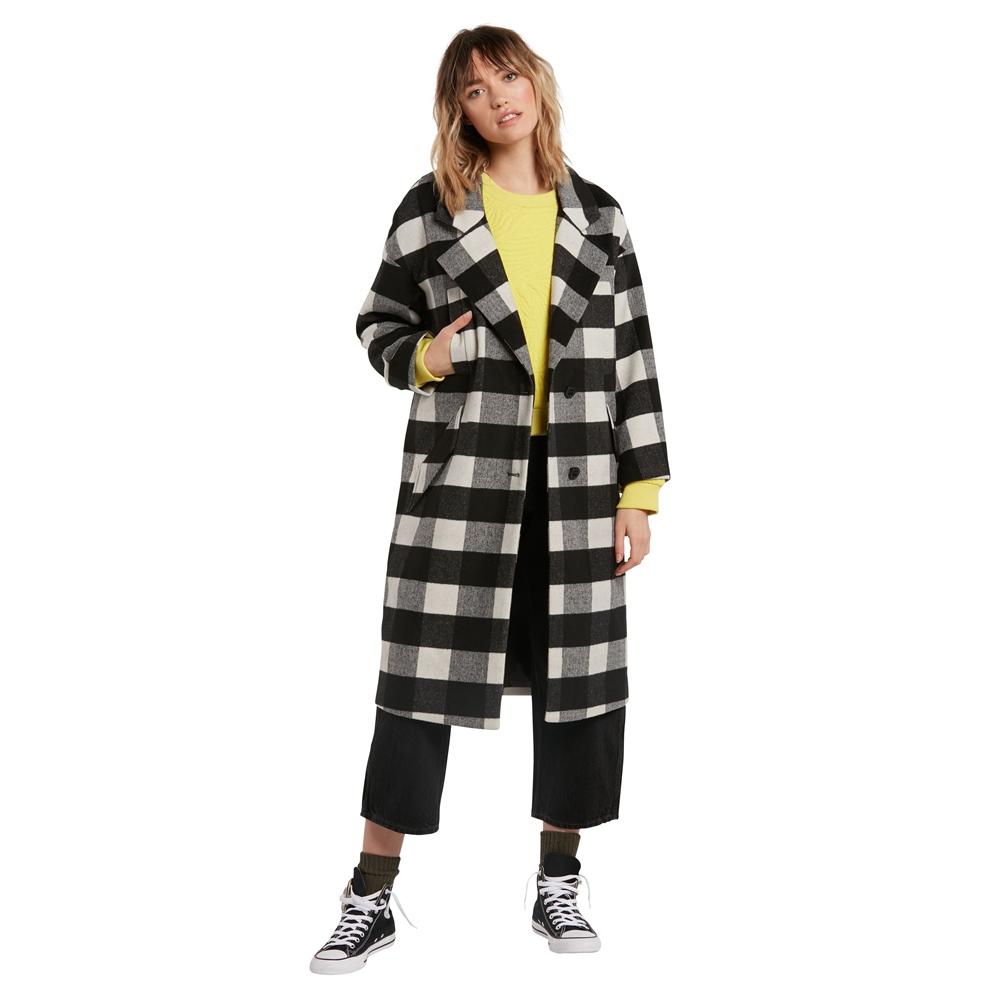 Volcom Over Coat - black Größe: S Farbe: black