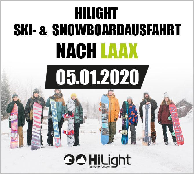 Ski- & Snowboardausfahrt Laax - 05.01.2020