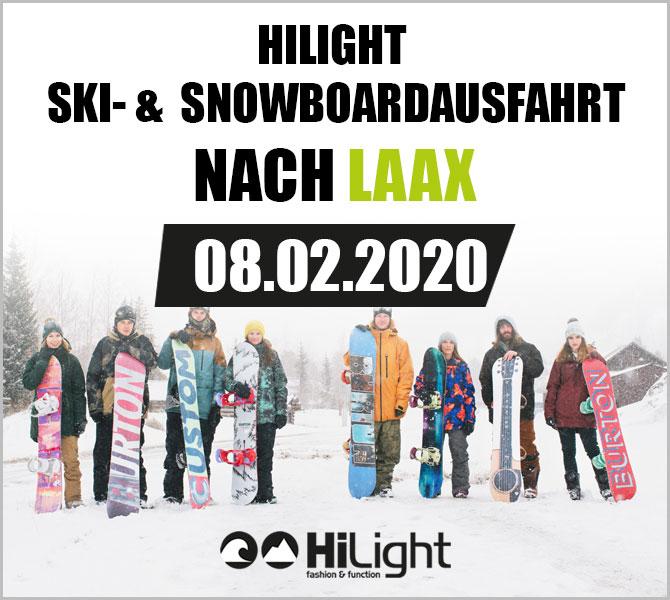 Ski- & Snowboardausfahrt Laax - 08.02.2020