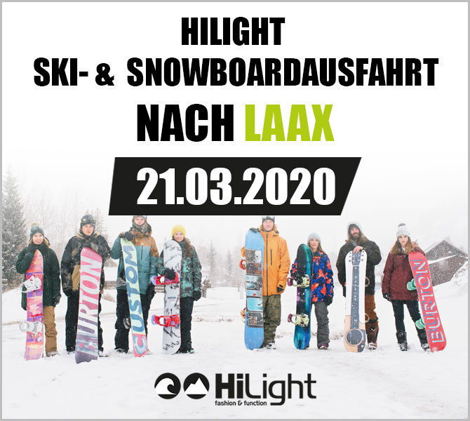 Ski- & Snowboardausfahrt Laax - 21.03.2020